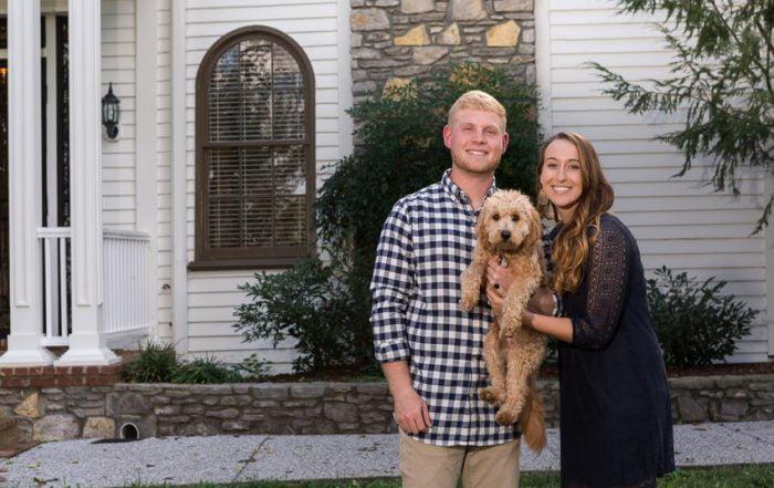 4 Engagement photos Nashville legacy farms