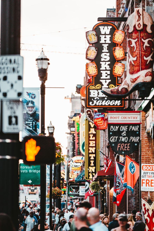 Broadway Street Nashville Destination Wedding