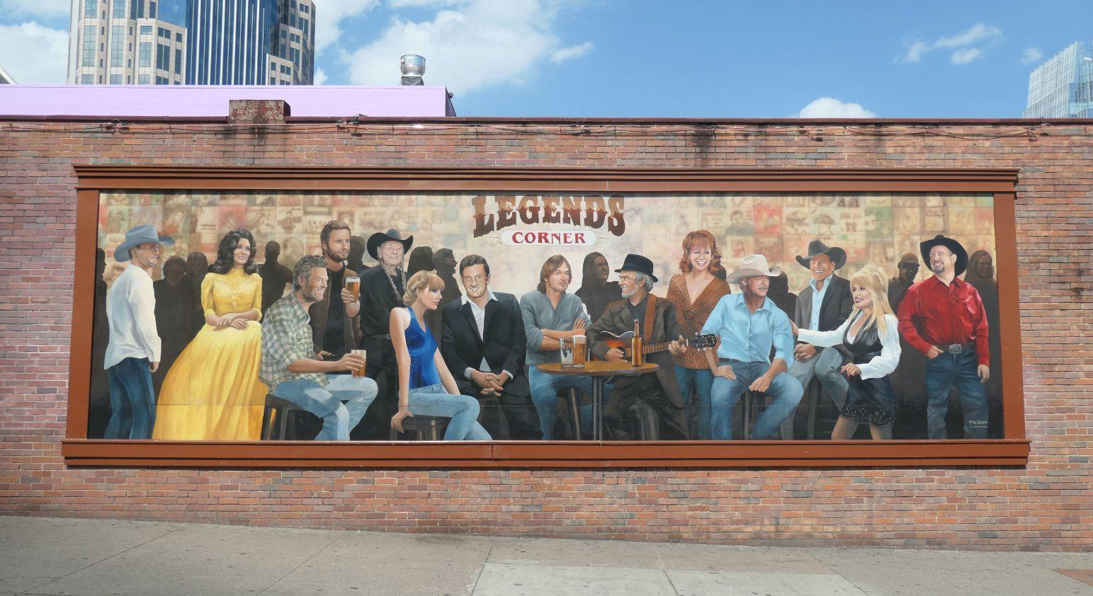 legends mural nashvillee 1